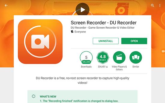 скачать программу Du Recorder - фото 10