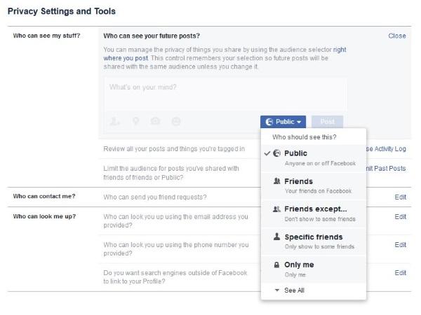 Kan du se vem som tittat på eller besökt din Facebook-profil2