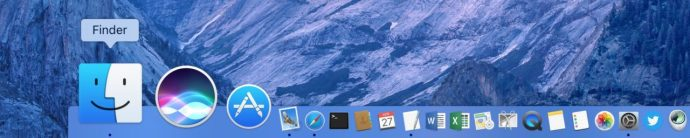 Finder Icon Dock