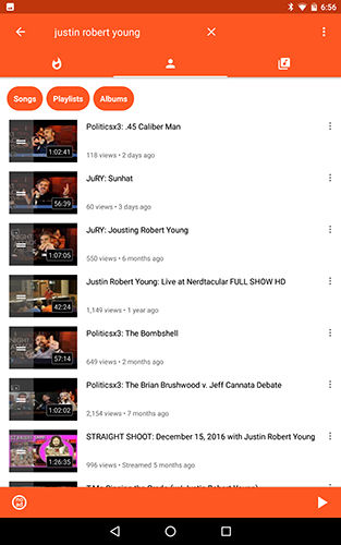how to play youtube in background android tablet