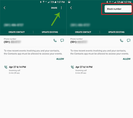 How To Block Calls on the Samsung Galaxy S7
