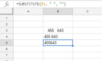 How To Remove Spaces in Google Sheets