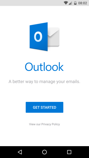 How to access hotmail on your phone access hotmail on your android phone stopboris Choice Image