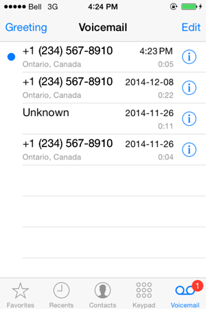 How To Setup Voicemail on the iPhone 6S