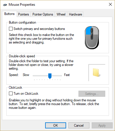 """12a092c0a21 So how do you get to the good stuff? Simple – over on the right hand side,  click """"Additional mouse options"""", and behold, the actual and real mouse  control ..."""