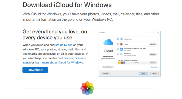 How To Upload Photos to iCloud From a PC