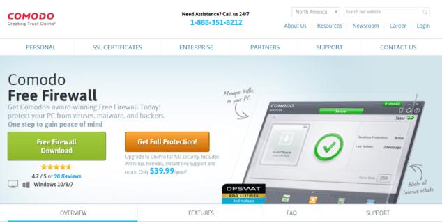 comodo free firewall vs zonealarm