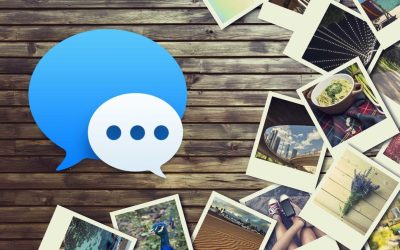 messages photos mac