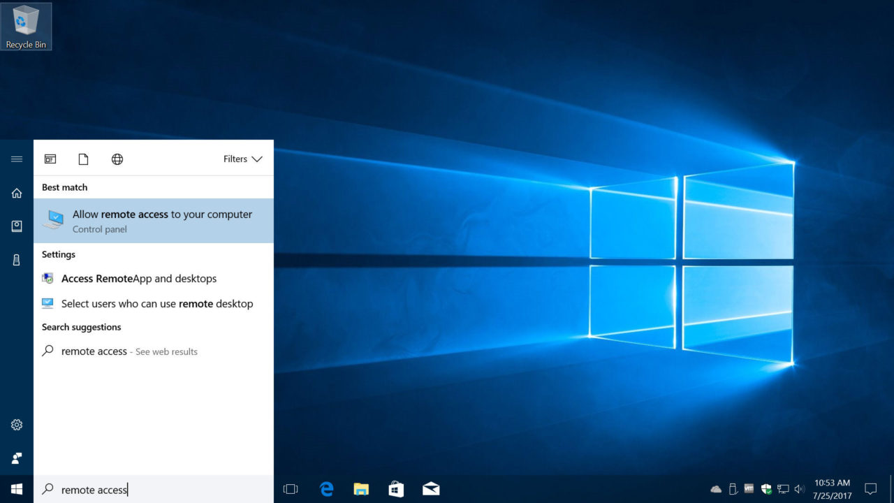 Enable Remote Desktop Access in Windows 10 to Log Into Your