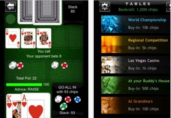 beste poker app offline