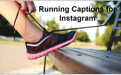 60 Running Captions For Instagram