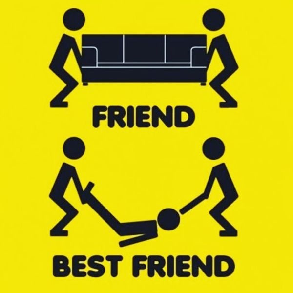 Friend ... best friend