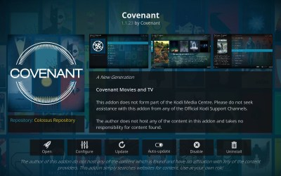 how to download from covenant kodi