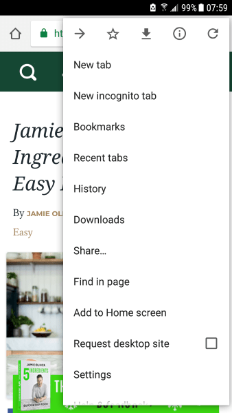 How to Set the Homepage in Chrome on Android and Other