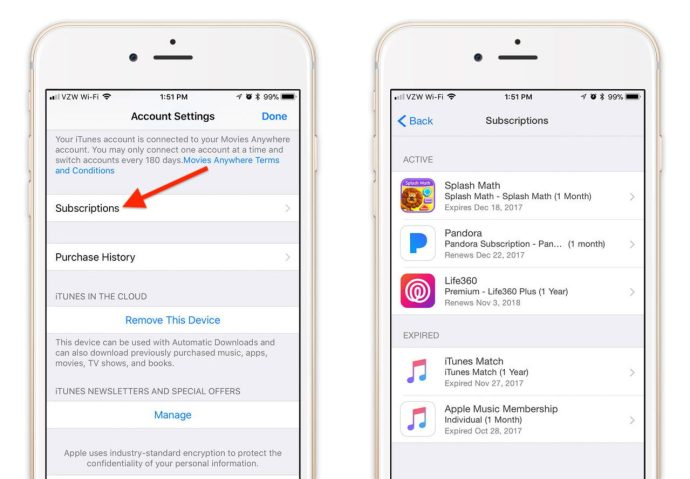 How to View and Manage Your iTunes and App Store Subscriptions