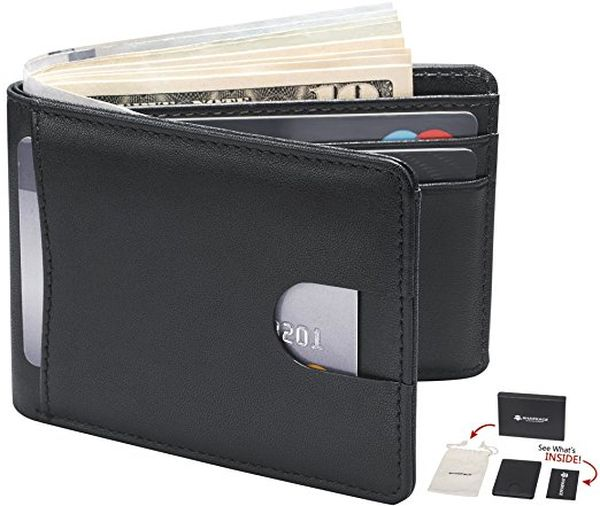 Front Pocket Leather Wallet for Men