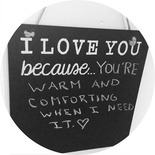 i love because