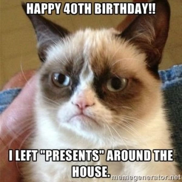 Wonderful Meme for Happy 40th Birthday