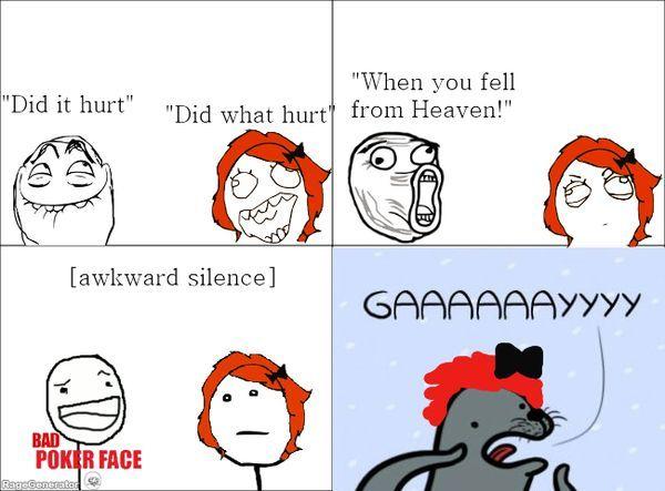 It hurt.  What hurts?