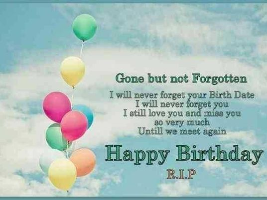 Astounding Happy Birthday Quotes And Images To Someone In Heaven Funny Birthday Cards Online Elaedamsfinfo