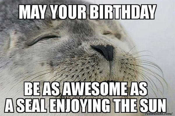 Funny happy birthday meme ideas