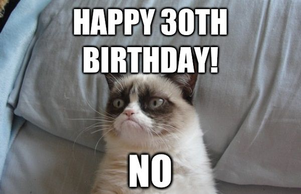Creative Meme for 30th Birthday