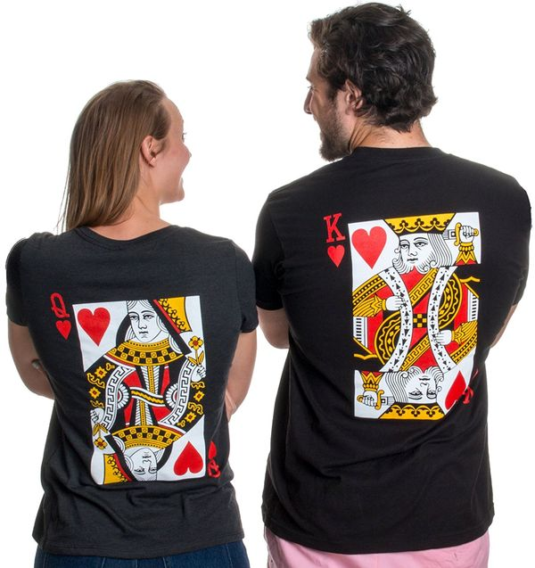 King & Queen Matching T-Shirts
