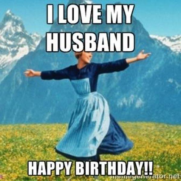 Happy Bday Meme for Beloved Husband
