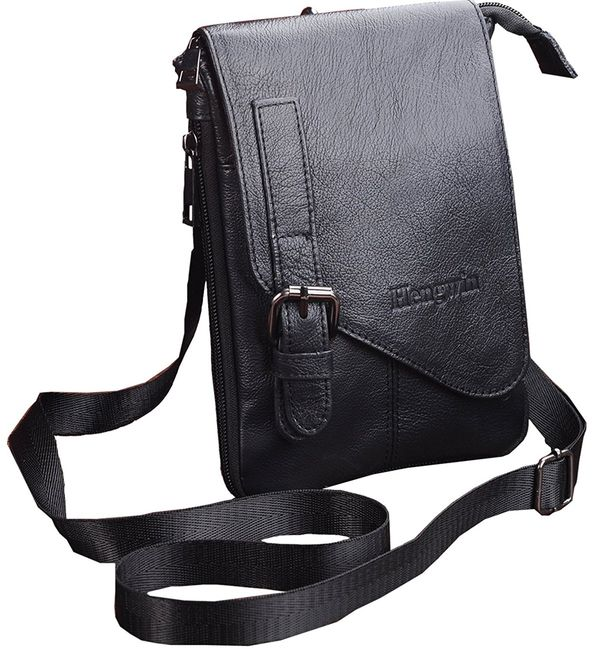 Vertical Small Crossbody Messenger Bag