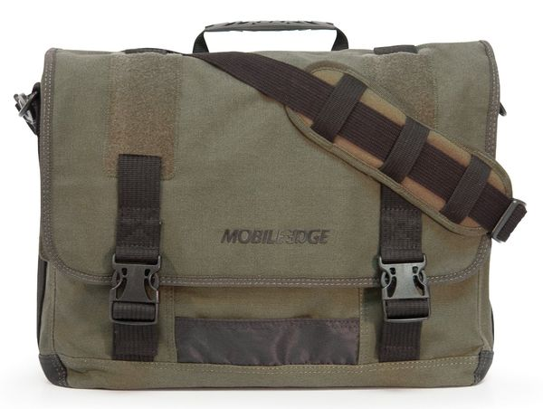 ECO Cotton Laptop Messenger Bag