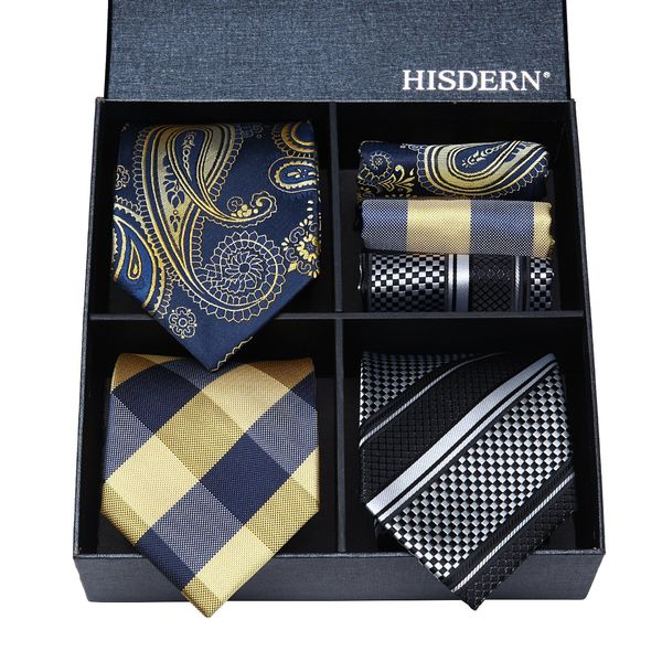 Classic Men's Silk Tie Set