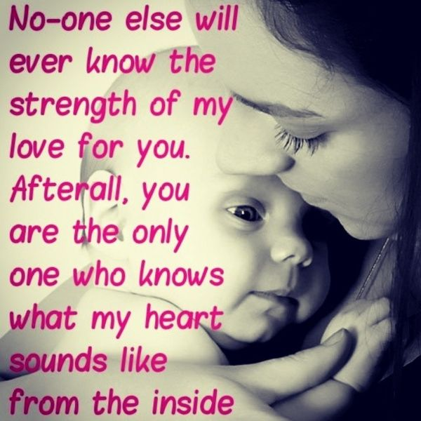 Striking emotional quotes about love for mom and son