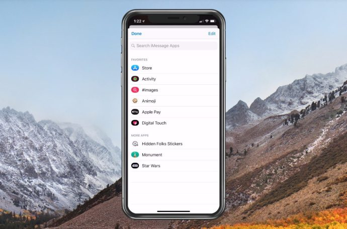 Cleaned-Up Messages App List