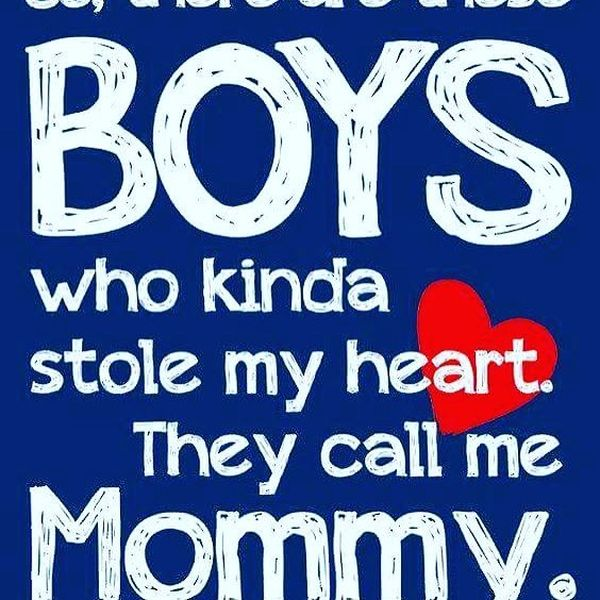 Showy Heartwarming Mommy and Son Relationship Quotes