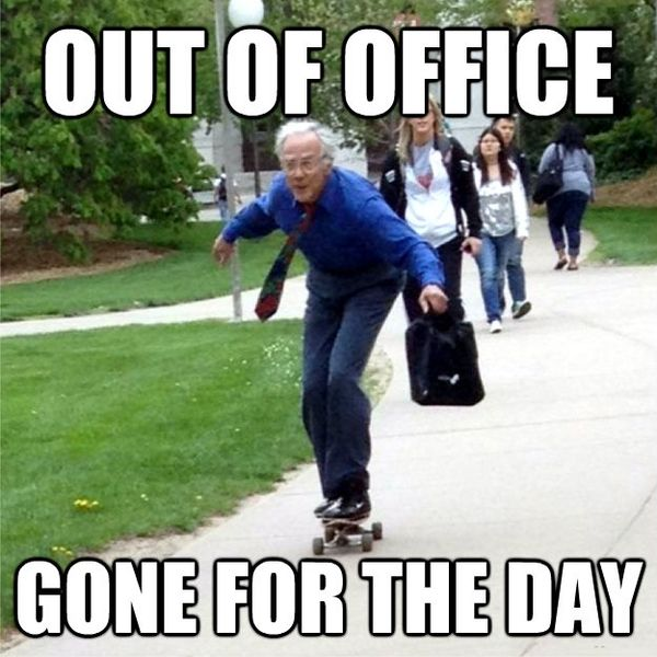 Splendid Out of Office Meme