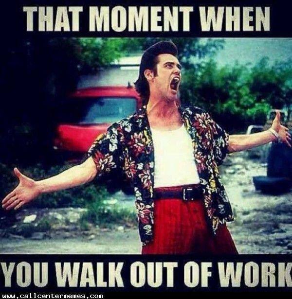 Невероятный мем об уходе из офиса