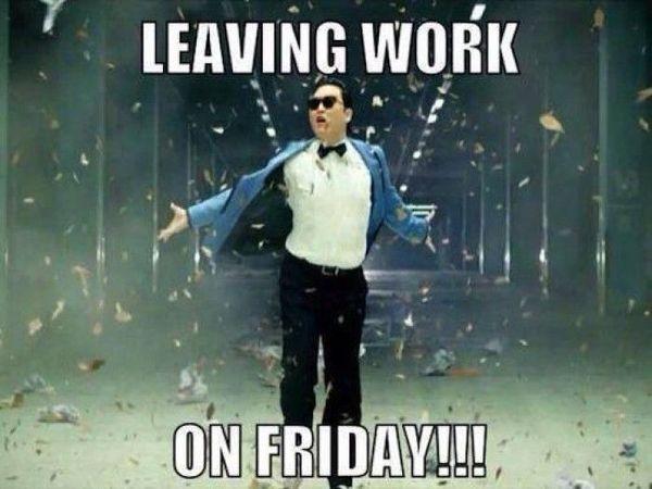 Захватывающий выход с работы в пятницу