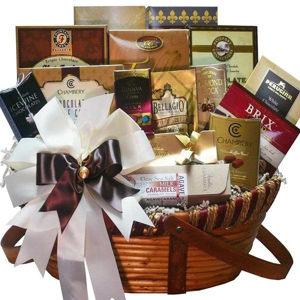Chocolate Treasures Gourmet Basket
