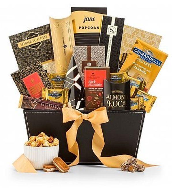 GiftTree the Metropolitan Gourmet Chocolate Basket