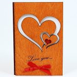 LapaTOON Handmade Wooden Greeting Card