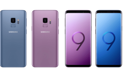 Storage Capacity on Samsung Galaxy S9