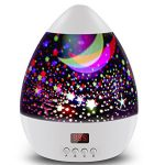 Romantic Room Rotating Cosmos Star Projector With LED Timer