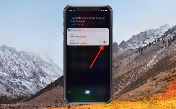 Siri Translates into Spanish