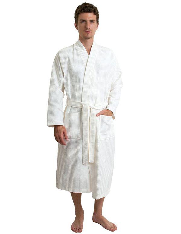 Towel Selections Waffle Bathrobe