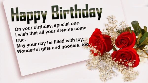 Unusual photos happy birthday for her with love 2