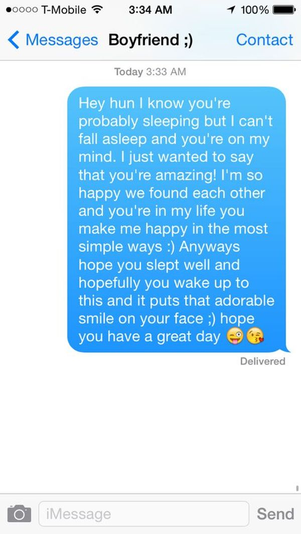 Cute Paragraphs for Her to Wake Up To