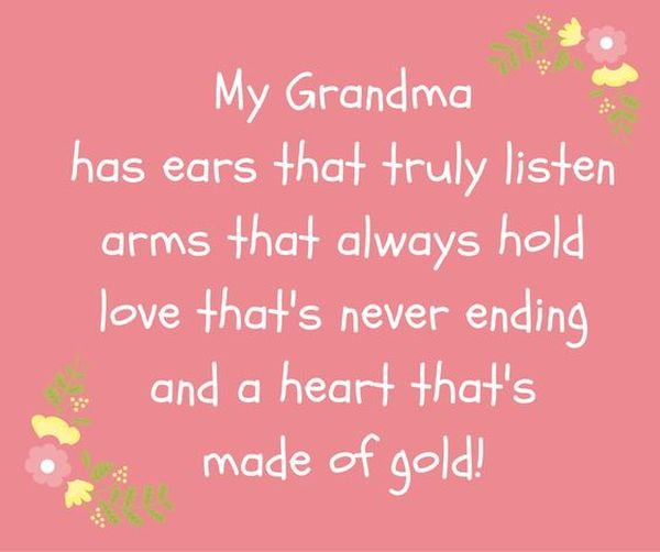 Grandma Quotes and Sayings