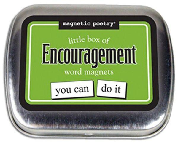 Magnetic Poetry Little Box Of Encouragement Kit