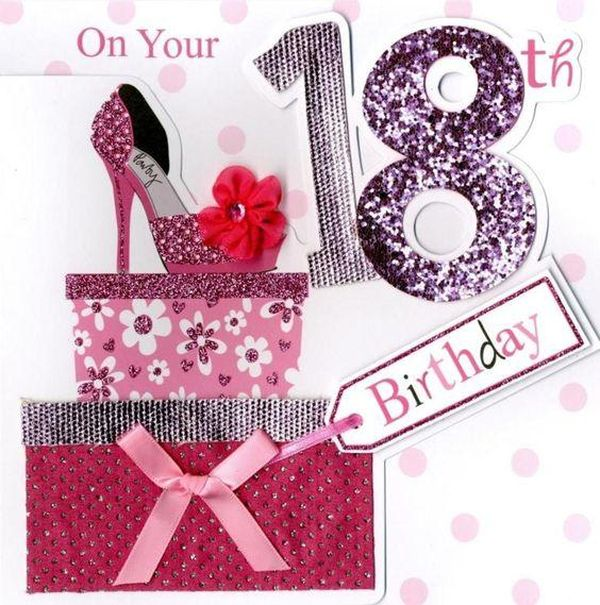 Interesting sayings with an 18th birthday for a granddaughter