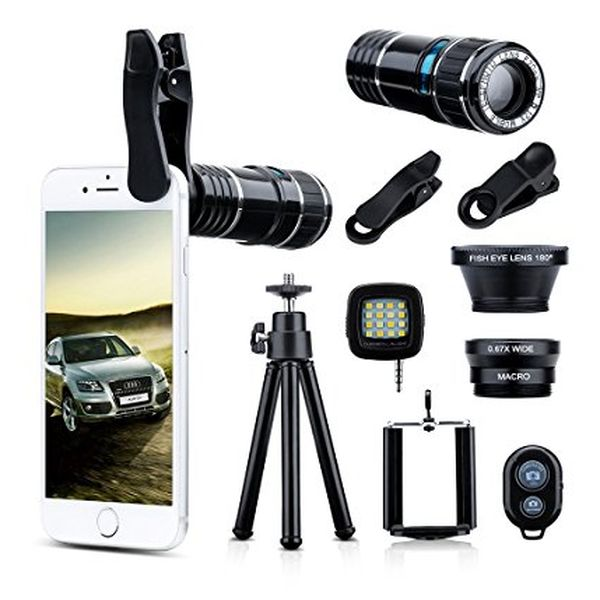 4-in-1 Cell Phone Camera Lens